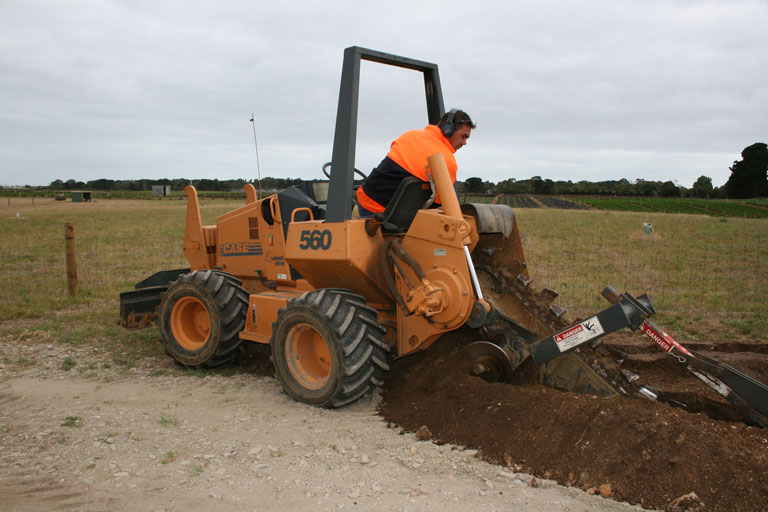 trenching mornington peninsula